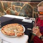 We had a really nice pizza and Calamari a la plancha. Third visit in three years, always nice fo