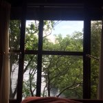 View from the bed in Ti Fey