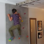Try a room with a climbing wall!