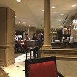 Sitting in Bar/Resturant - Get Cobb Salad - skip cheesy flat bread