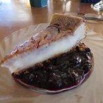 huckleberry cheesecake
