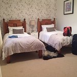 The twin room in the main house. Perfect for two kids.