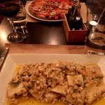 Parmigiana pizza and Paccheri sicilian way