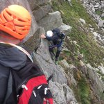 Learning to protect a traverse on a Grade 3 scrambling route
