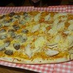 Half metre Pizza /comedy night 😋