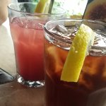 Raspberry Lemonade and Unsweetened Iced Tea