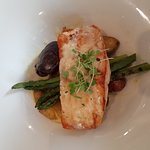 The salmon was perfection!
