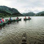 Canoeing on Loch Lubnaig
