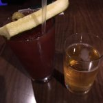 bloody mary with a beer chaser