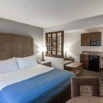 Oversized Guestrooms, Wet Bars Available