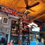 It's a big soccer bar but it's not a big, over-the-top sports bar. Good atmosphere!