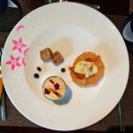 Desserts from the Coorg Tasting Menu
