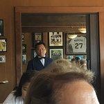 Juan Marachal jersey in background.