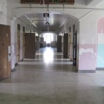 The untouched halls of an insane asylum