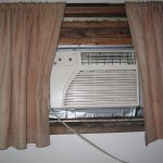 nice new AC with great installation & no knobs