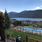 View from the Grand Lake Lodge