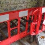 Behind the modern day guard rail: the drying racks