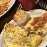 Shrimp & Crab Omelet.. Delish!