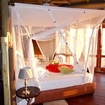 Chalet bed.