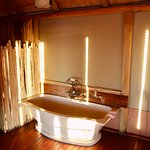 Chalet bathroom.