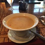Clam Chowder with lobster