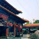 Buddhist temple. Super crowed so head at sunset when it's less busy