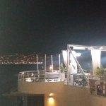 Romantica cena vista Saranda