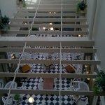 Dining area - under atrium