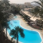 Really great pool in a really clean and well located apartment hotel
