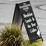 Sandwich board sign