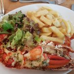 Half Islay lobster. Beautiful!