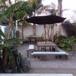 the front room restaurant outdoor area