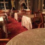 Die Tischdecken im Speisesaal aus Panesamt