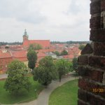 Blick vom Wehrturm über Wittstock