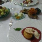Le dessert et les mignardises