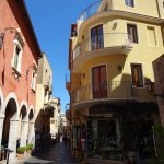 A street in Taormina