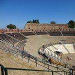 The Greek Theater of Taormina