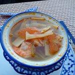 soupe aux crevettes thailandaise