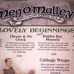 Foto de Meg O'Malley's Restaurant & Irish Pub