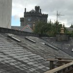 From the porch outside our rom you could see the top of Kilkenny Castle.
