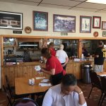 Another great TripAdvisor catch.  Great omelets, biscuits and sausage.  Order at the counter the