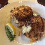 Chicken Chesapeake was yummy