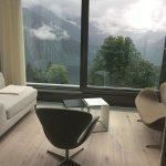 Sitzecke im Zimmer mit Frontview