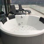 Whirlpool der Suite 1001