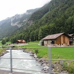 Wooden cottages, crystal clear streams, green pastures...
