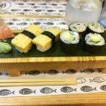 """Menú """"No solo sushi"""""""