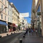 Rue d'Antibes Foto