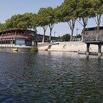 Bateau vu de la Loire