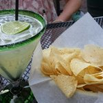 Margarita and chips were very tasty!