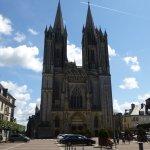 cathédrale ND de Coutances façade occidentale